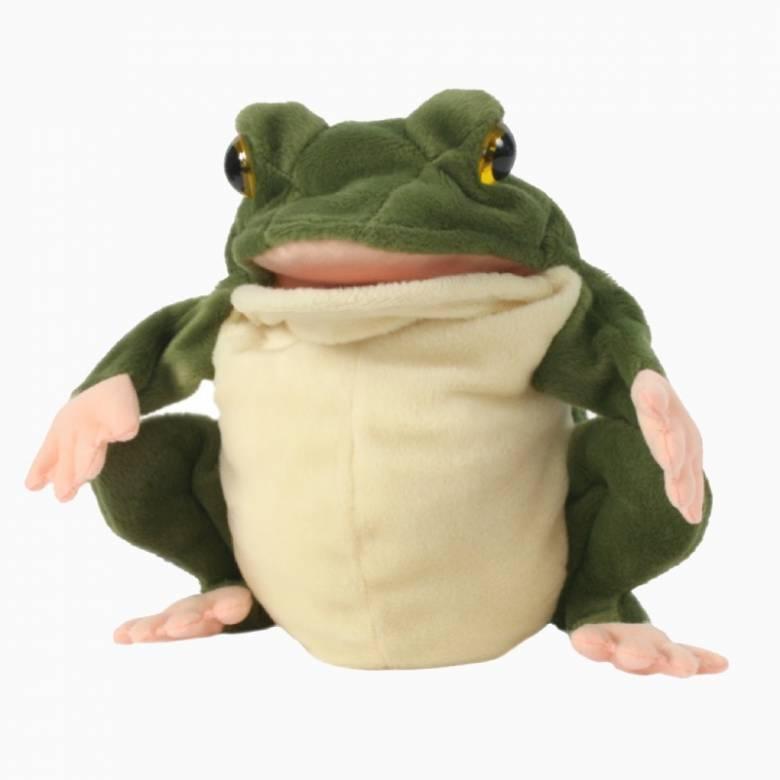 Frog -  Plump Glove Puppet European Wildlife