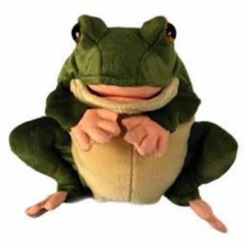 FROG Plump Glove Puppet European Wildlife