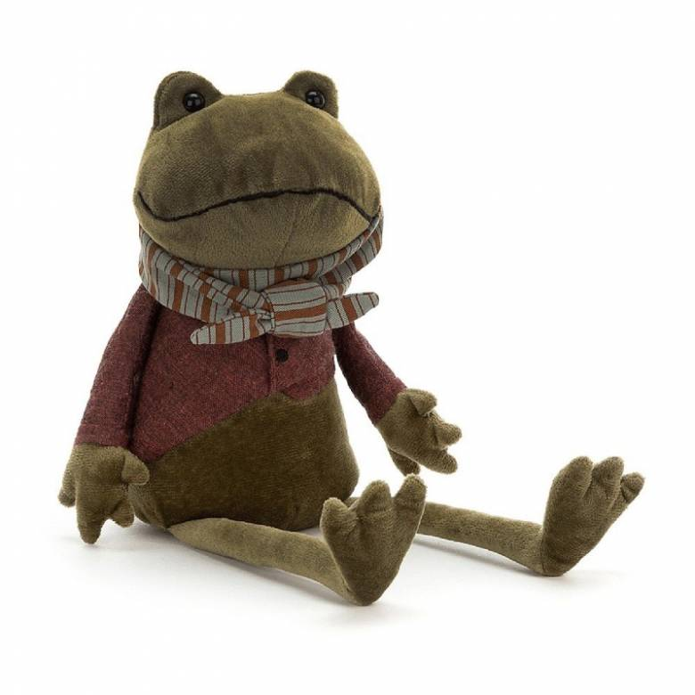 Frog Riverside Rambler Soft Toy By Jellycat