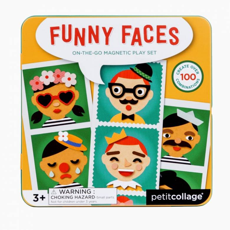 Funny Faces - On The Go Magnetic Play Set 3+