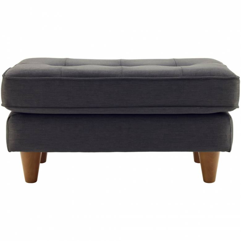G Plan Vintage The Fifty Nine Fabric Footstool