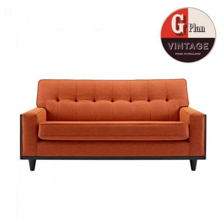 G Plan Vintage The Fifty Nine Small Fabric Sofa