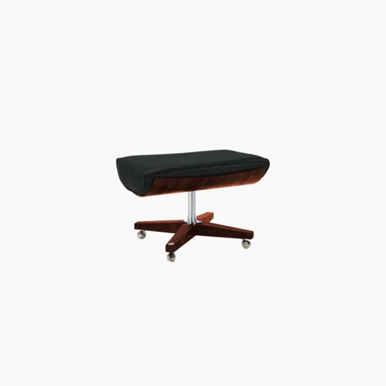 G Plan Vintage The Sixty Two Cambridge Leather Footstool
