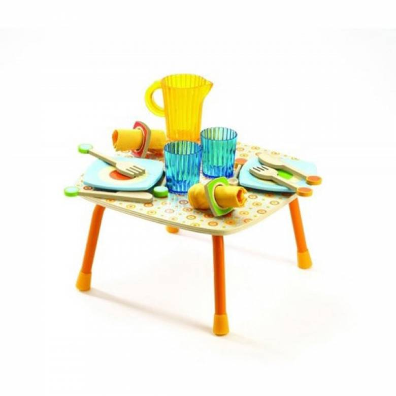 Gaby's Lunch Set By Djeco 3+