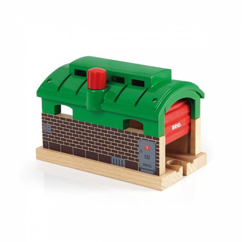 Train Garage BRIO Wooden Railway Age 3+