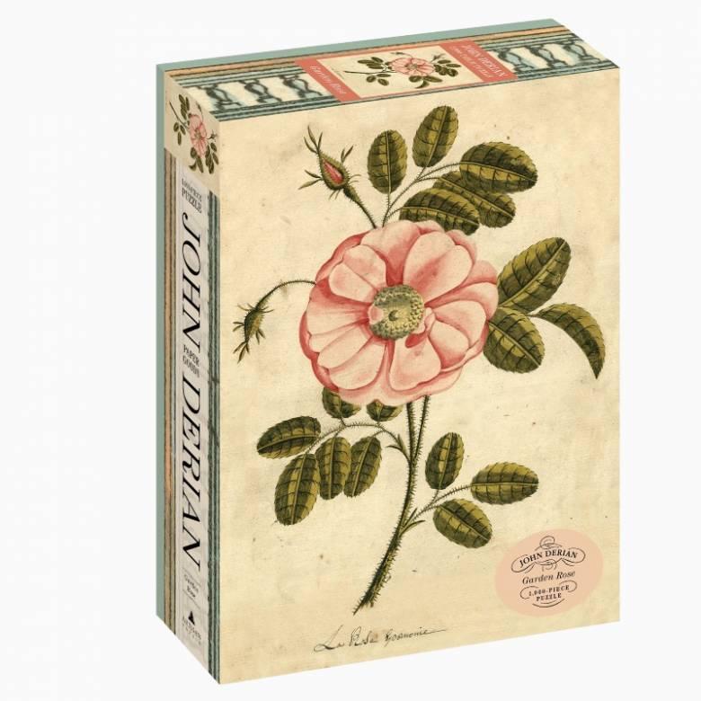 Garden Rose By John Derian - 1000 Piece Jigsaw Puzzle