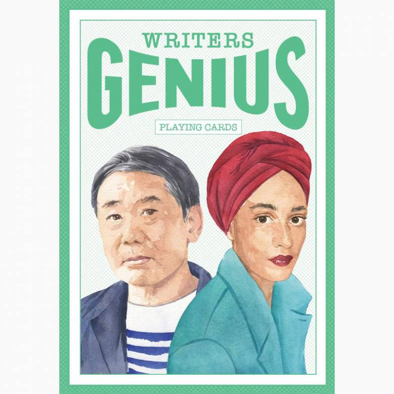 Genius Writers - Pack Of Playing Cards