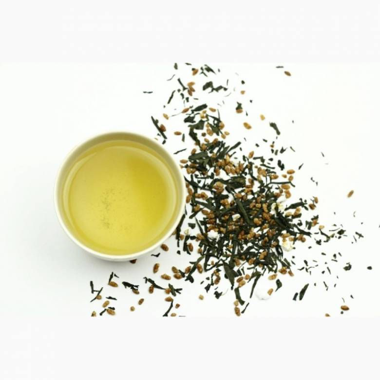 Tiosk Genmaicha Loose Leaf Green Tea 100g