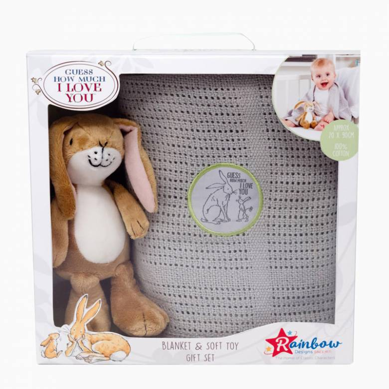 Guess How Much I Love You Toy And Blanket Set