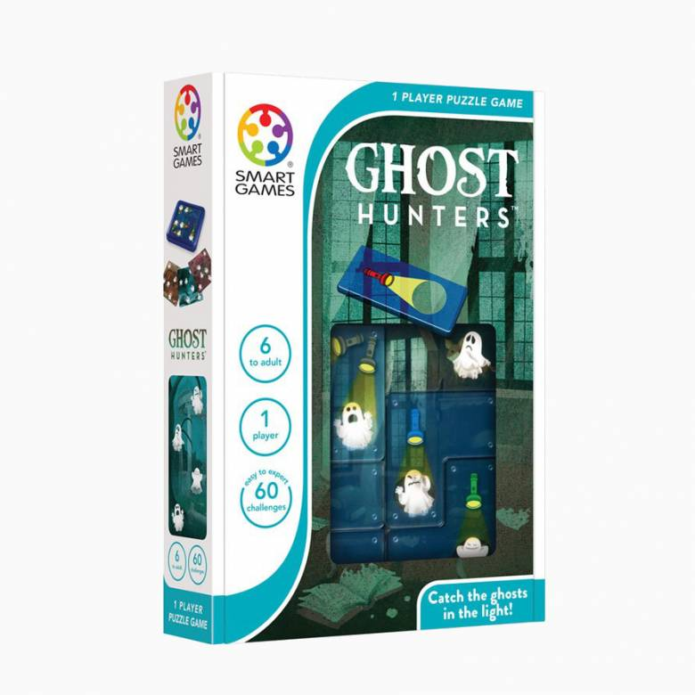 Ghost Hunters 1 Player Puzzle Game 5+