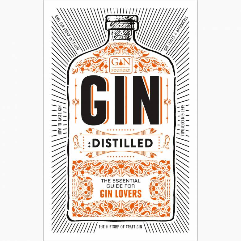Gin: Distilled - Hardback Book