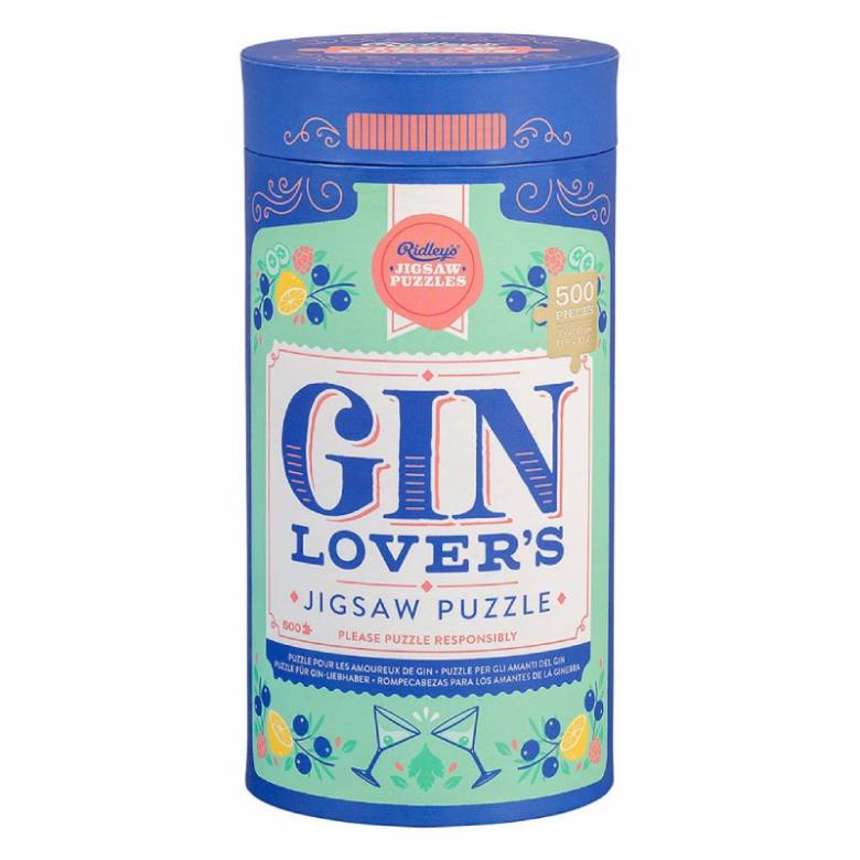 Gin Lovers' Jigsaw Puzzle 500 Piece