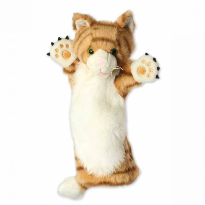 GINGER CAT Long Sleeved Glove Puppet