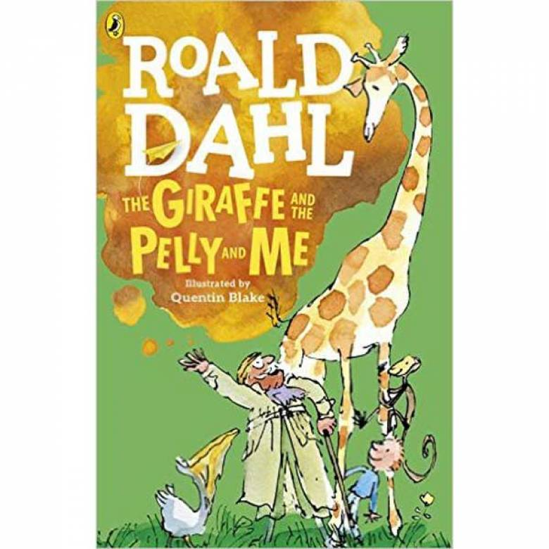 The Giraffe And The Pelly And Me By Roald Dahl Paperback Book