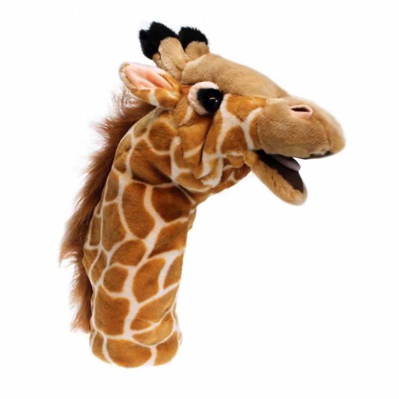 Giraffe Long Sleeved Glove Puppet