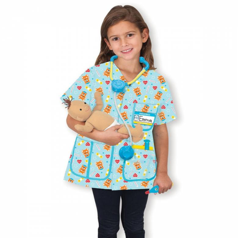 Paedaiatric Nurse Fancy Dress 3-6yrs By Melissa & Doug