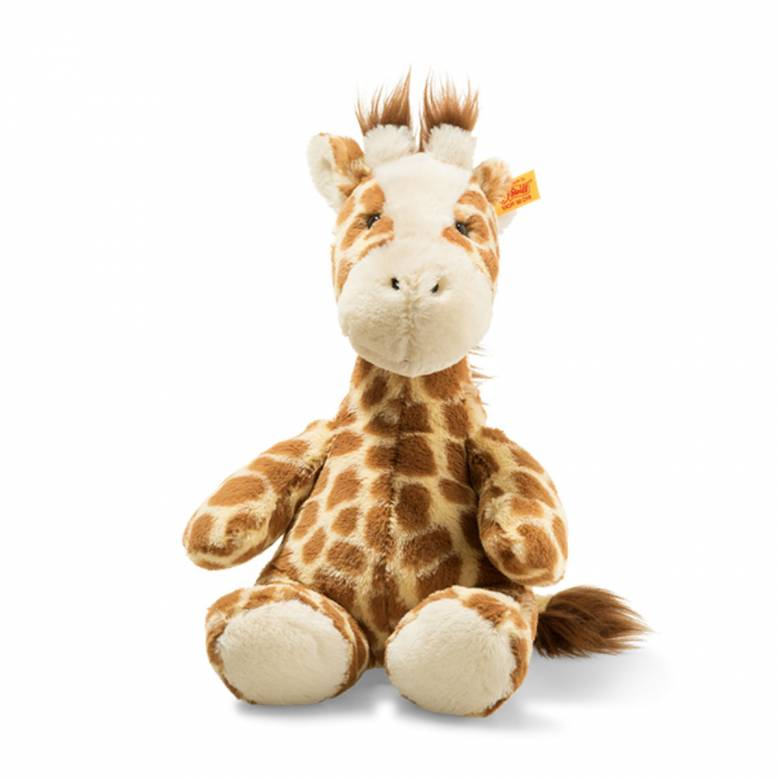 Girta Giraffe Soft Cuddly Friends Soft Toy By Steiff