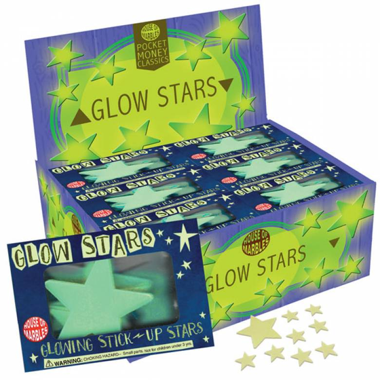 Small Box Of Glow Stars