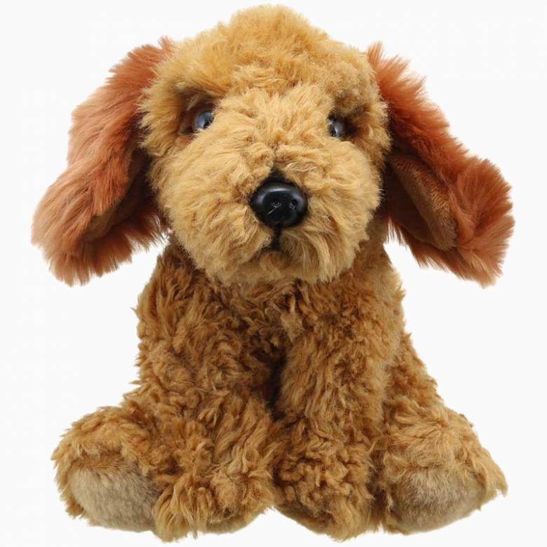 Golden Cockapoo Dog Wilberry Soft Toy 1+