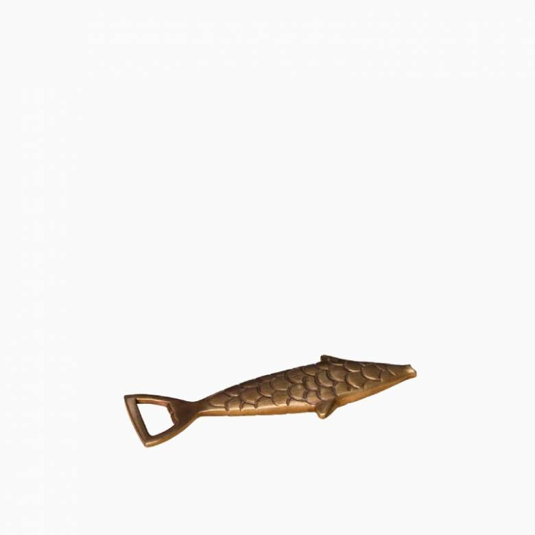 Golden Fish Bottle Opener