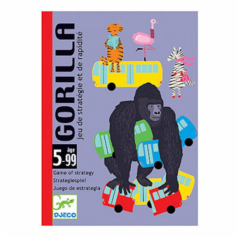 Gorilla Card Game - Association Game of Speed