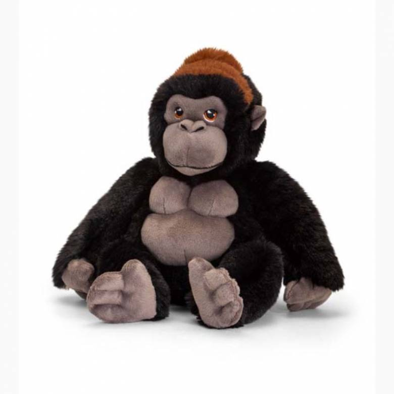 Gorilla Soft Toy - Made From Recycled Plastic 0+
