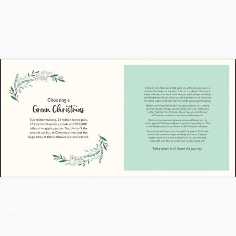 Green Christmas - Hardback Book