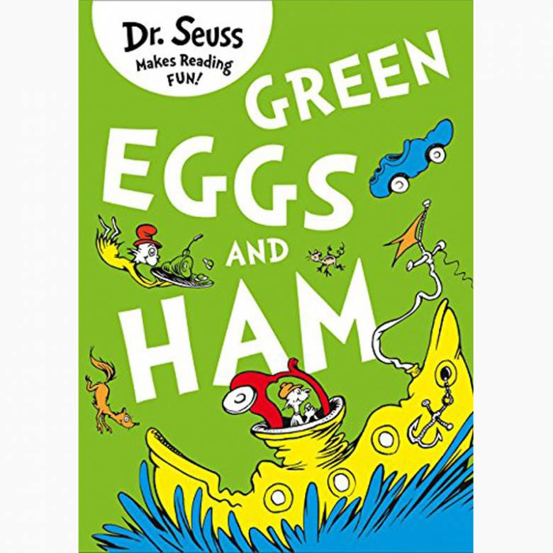 Green Eggs And Ham By Dr. Seuss - Paperback Book