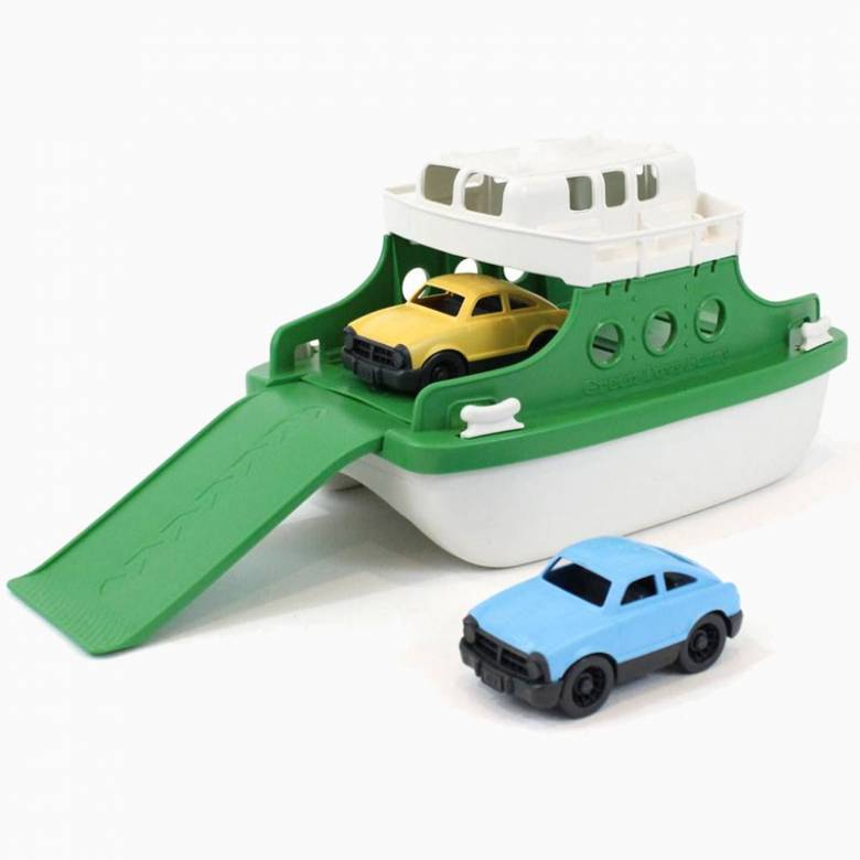 Green Ferry Boat With Cars Toy By Green Toys 3+
