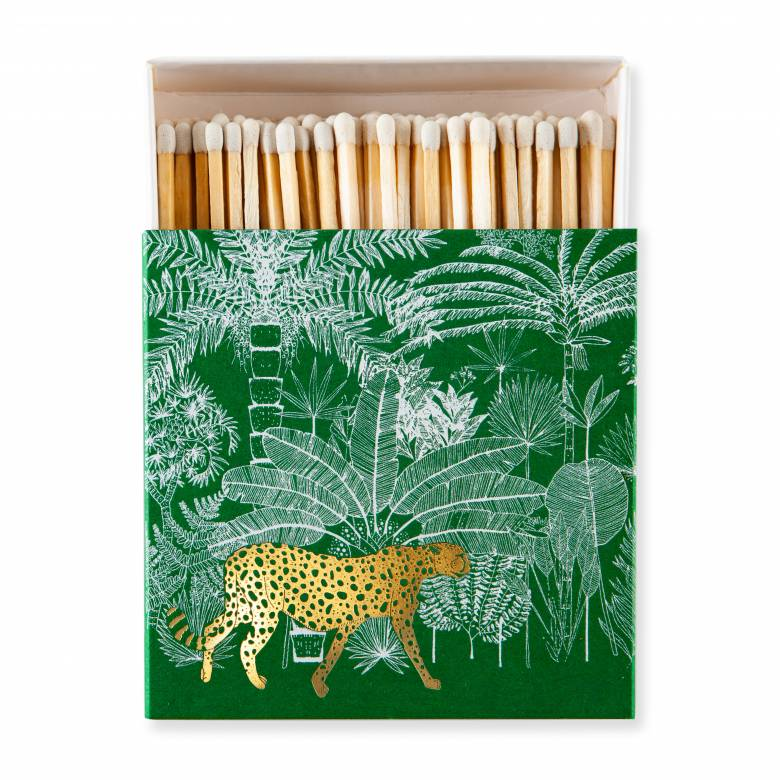 Cheetah - Square Box Of Safety Matches