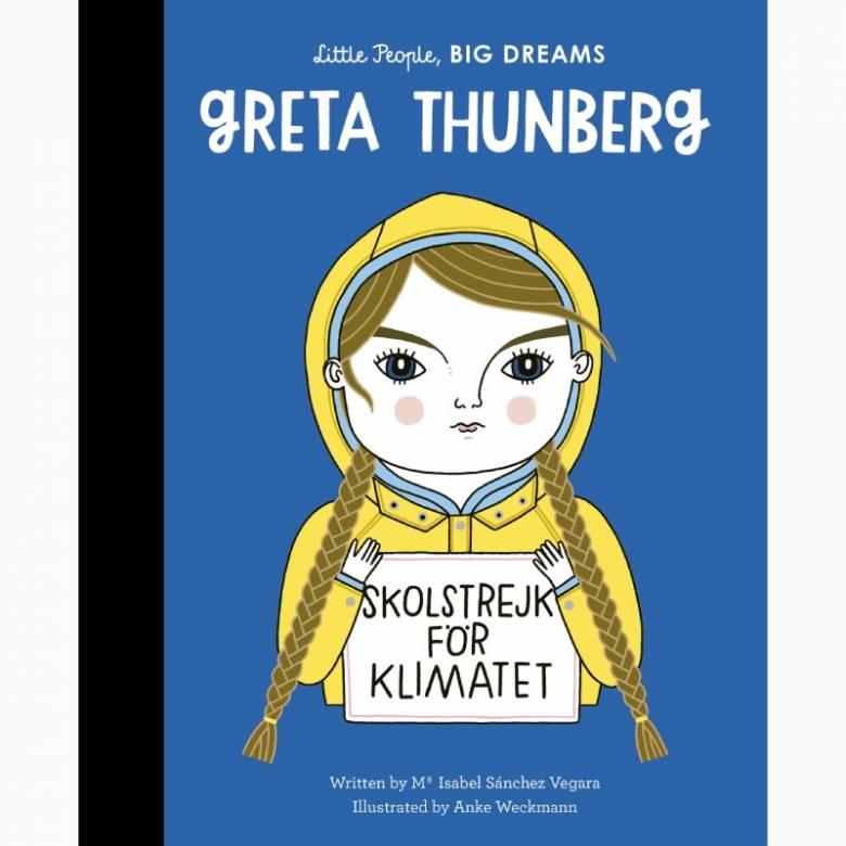 Greta Thunberg: Little People Big Dreams Hardback Book