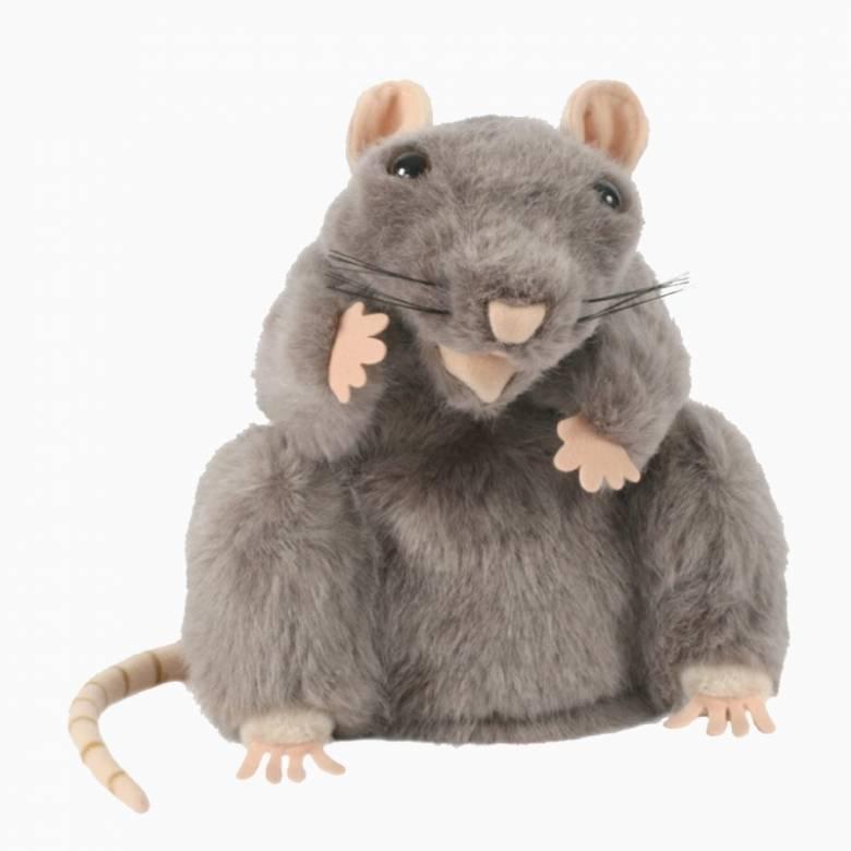 Grey Rat -  Plump Glove Puppet European Wildlife