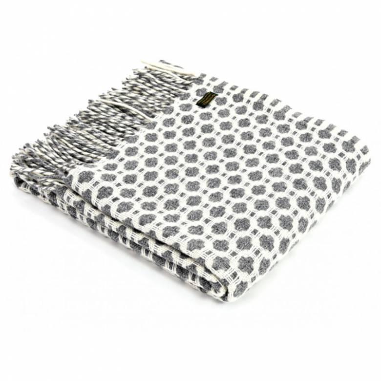 Grey Crossroads Throw Blanket 150x183cm