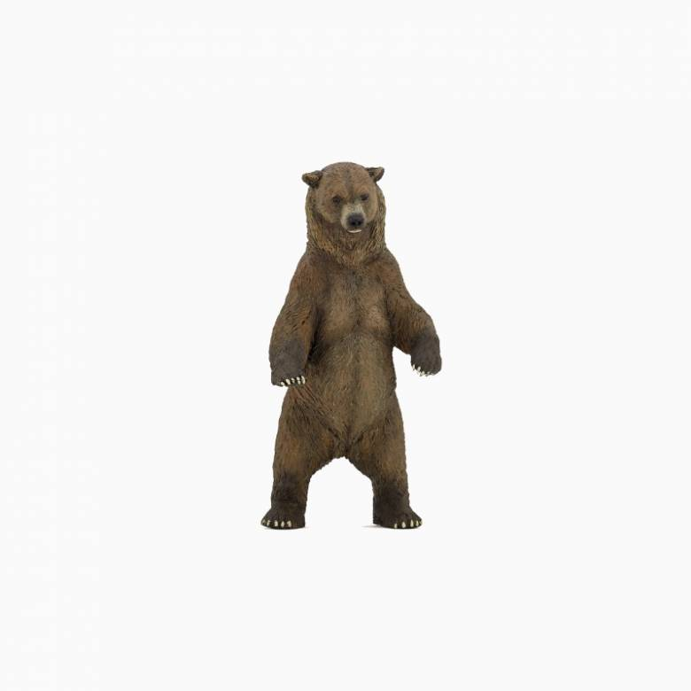 Grizzly Bear - Papo Wild Animal Figure