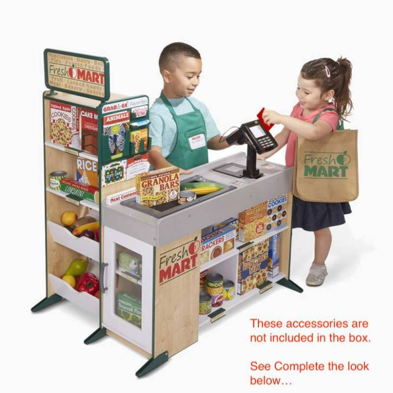 Fresh Mart Grocery Store Toy Set 3+