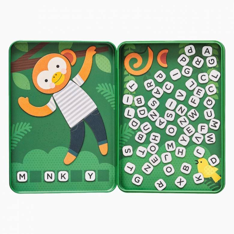 Hang On Monkey - Magnetic Travel Game 3+