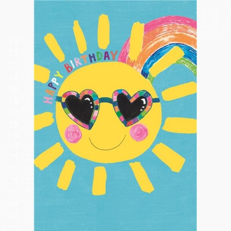 Happy Birthday Birthday Sun - Greetings Card
