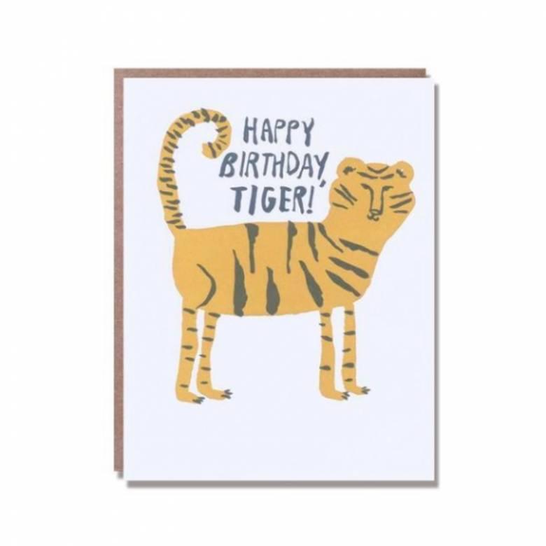 Happy Birthday Tiger! - Greetings Card