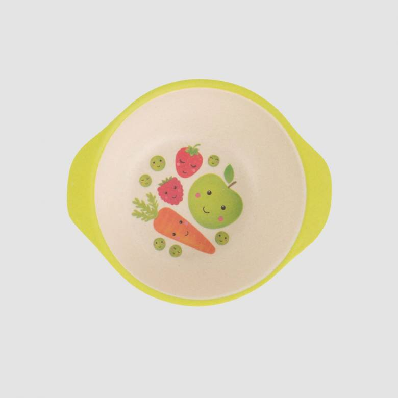 Happy Fruit & Veg Children's Bowl