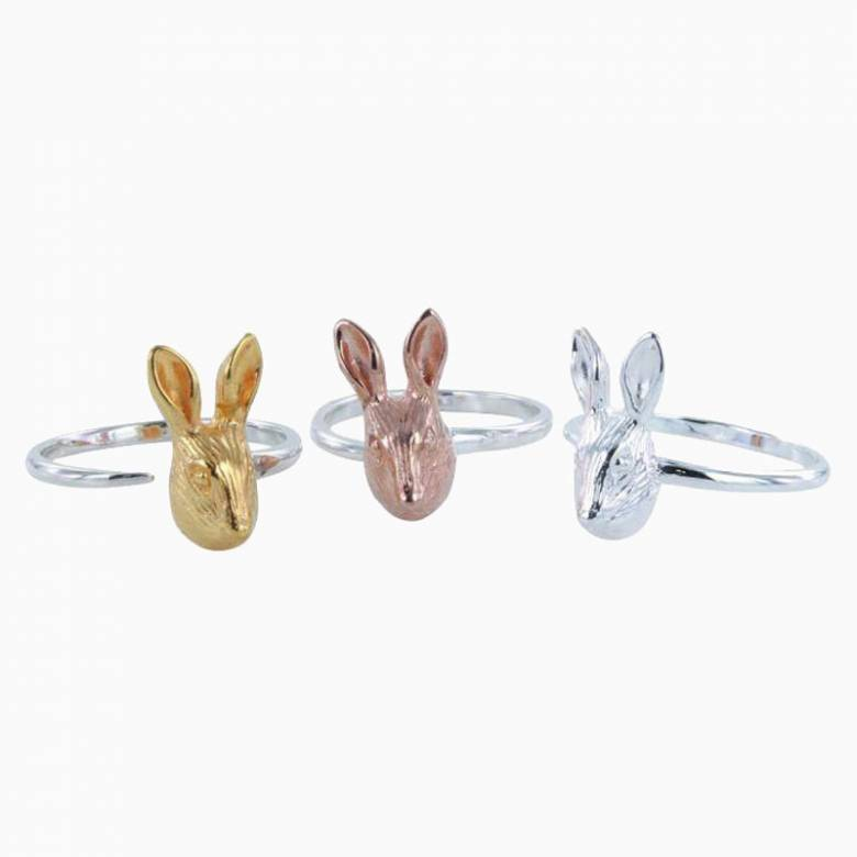 Hare Ring - Gold