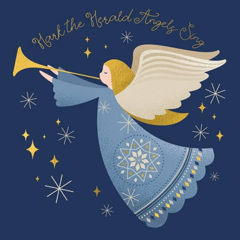 Hark The Herald Angels Sing - Pack Of 6 Christmas Cards