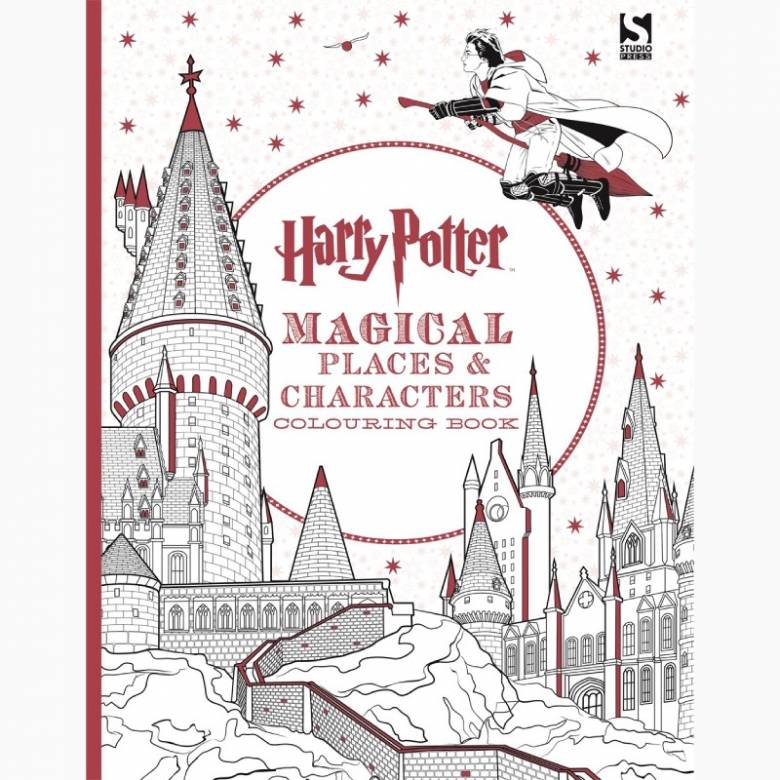Harry Potter Magical Places and Characters - Colouring Book