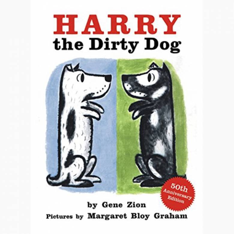 Harry The Dirty Dog - Board Book