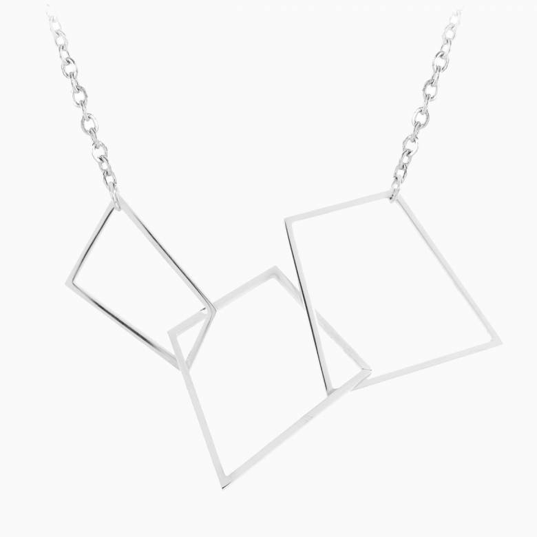 Hepworth Steel Necklace By Esa Evans