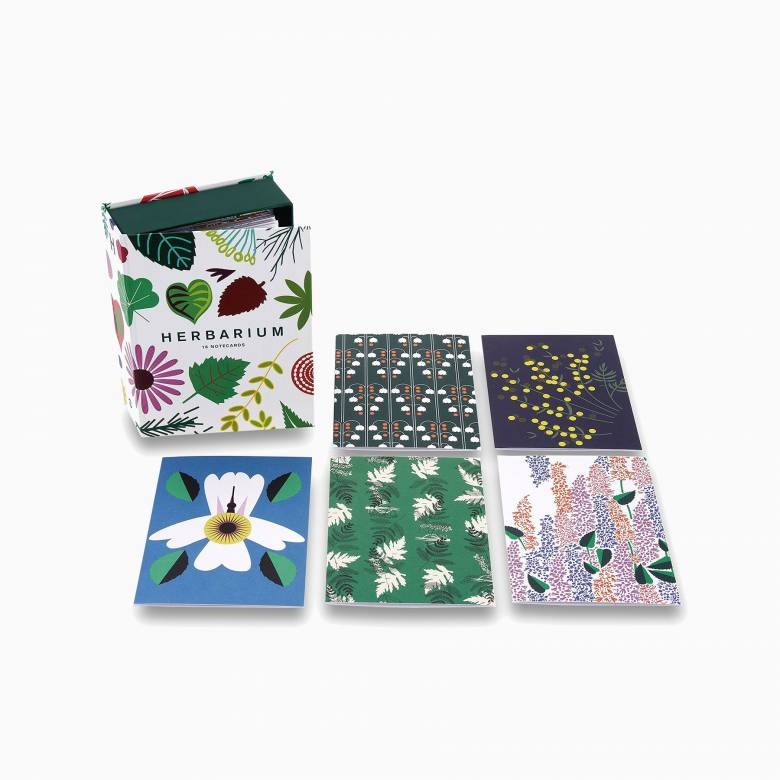 Herbarium - Box Set Of 16 Notecards