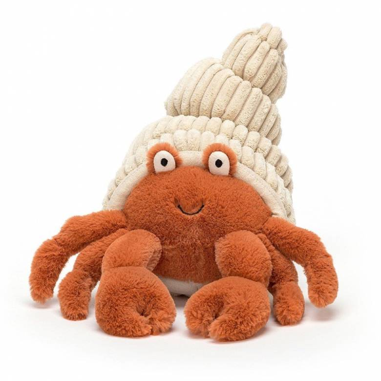 Herman Hermit Crab Soft Toy By Jellycat