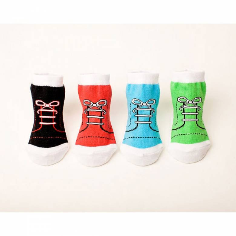 Ultra Cool High Top Baby Socks Set Of 4