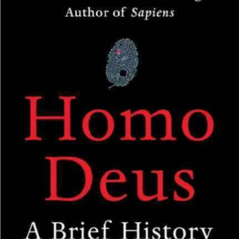 Homo Deus By Yuval Noah Harari Paperback Book
