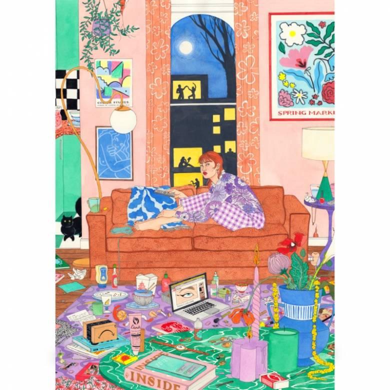 Honey I'm Home - 1000 Piece Jigsaw Puzzle