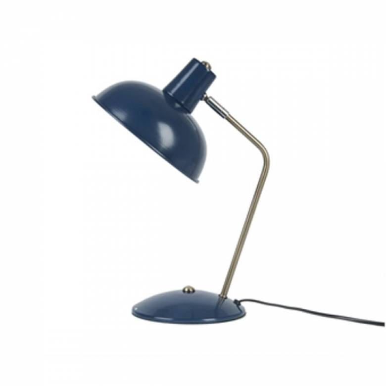 Hood Metal Table Lamp In Dark Blue